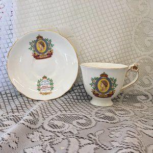 Coronation Queen Elizabeth Tea Cup & Saucer 2561